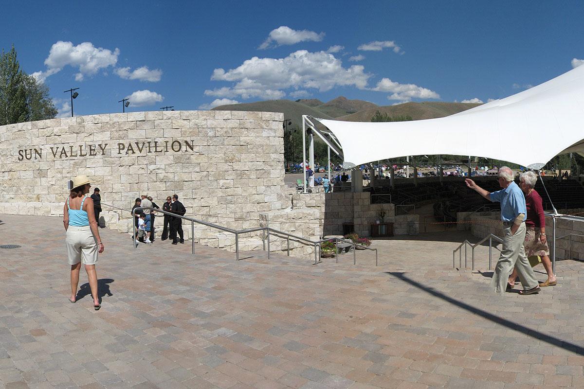 pavilion west