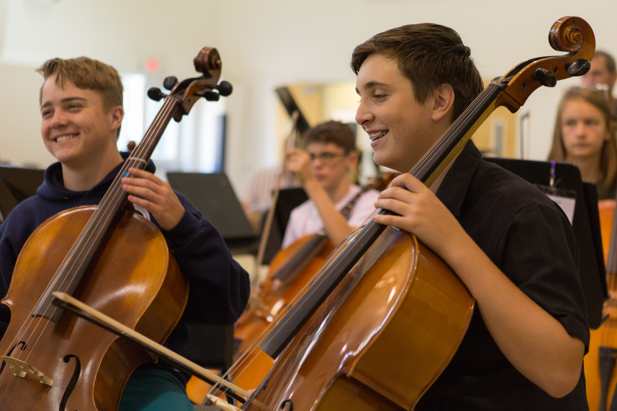 young bass musicians