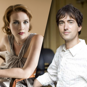 Composer Mason Bates and Singer Sasha Cooke