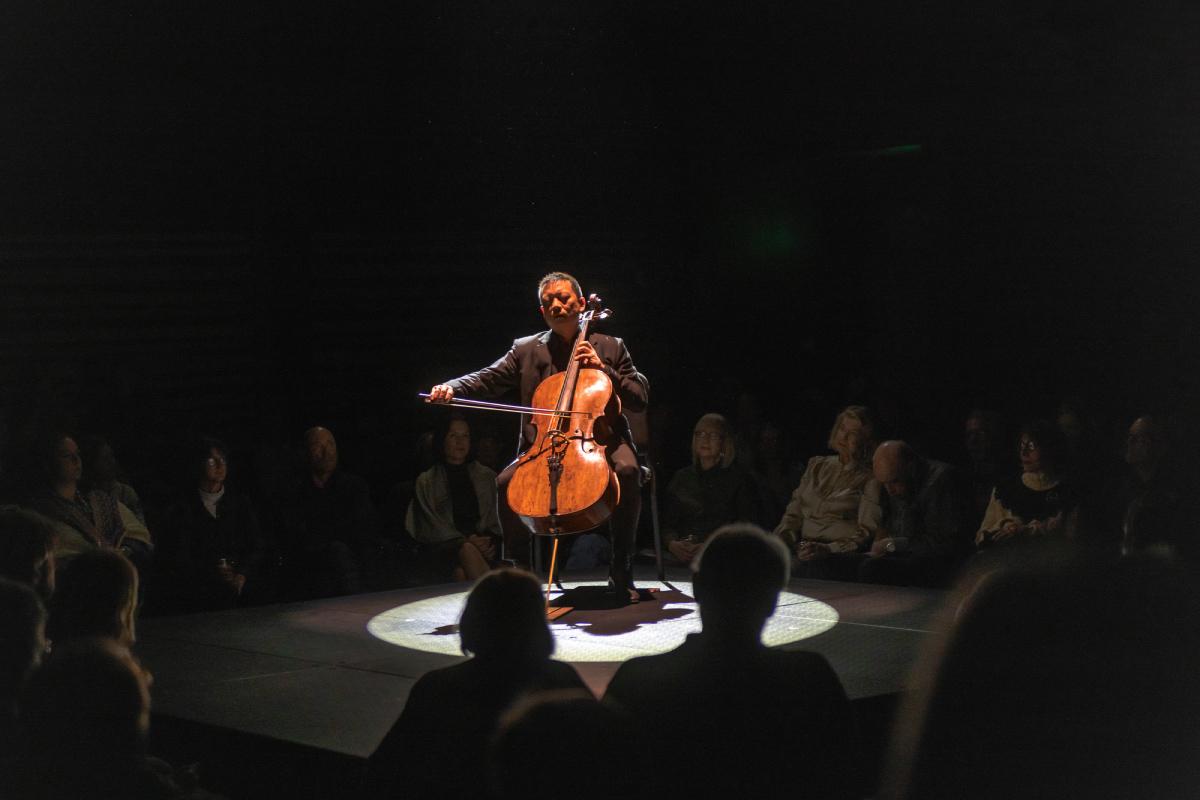 Cellist Amos Yang