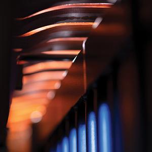 Underside of a Marimba