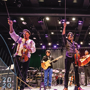 Villalobos Brothers performing