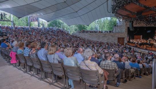 Concert at the Pavilion